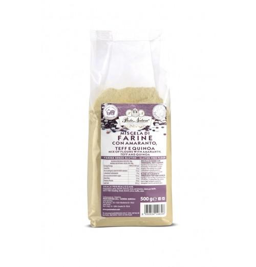 mix farine cereali pasta natura