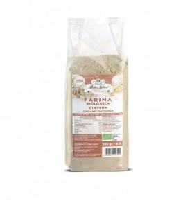 farina di avena biologica pasta natura