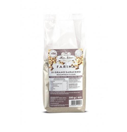 farina grano saraceno pasta natura