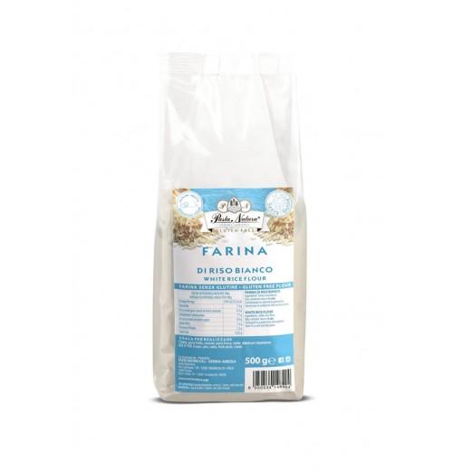 farina riso bianco pasta natura