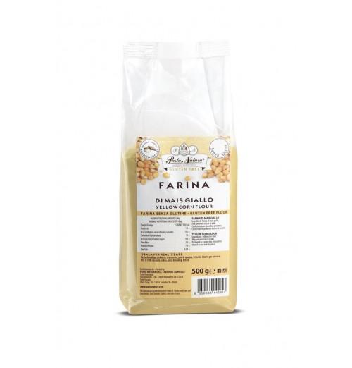 farina mais giallo pasta natura