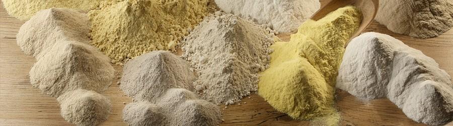 Farine del Marchesato 100% biologiche prive di glutine