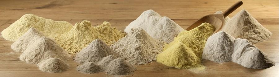 Farine PASTA NATURA da cereali e legumi naturalmente privi di glutine